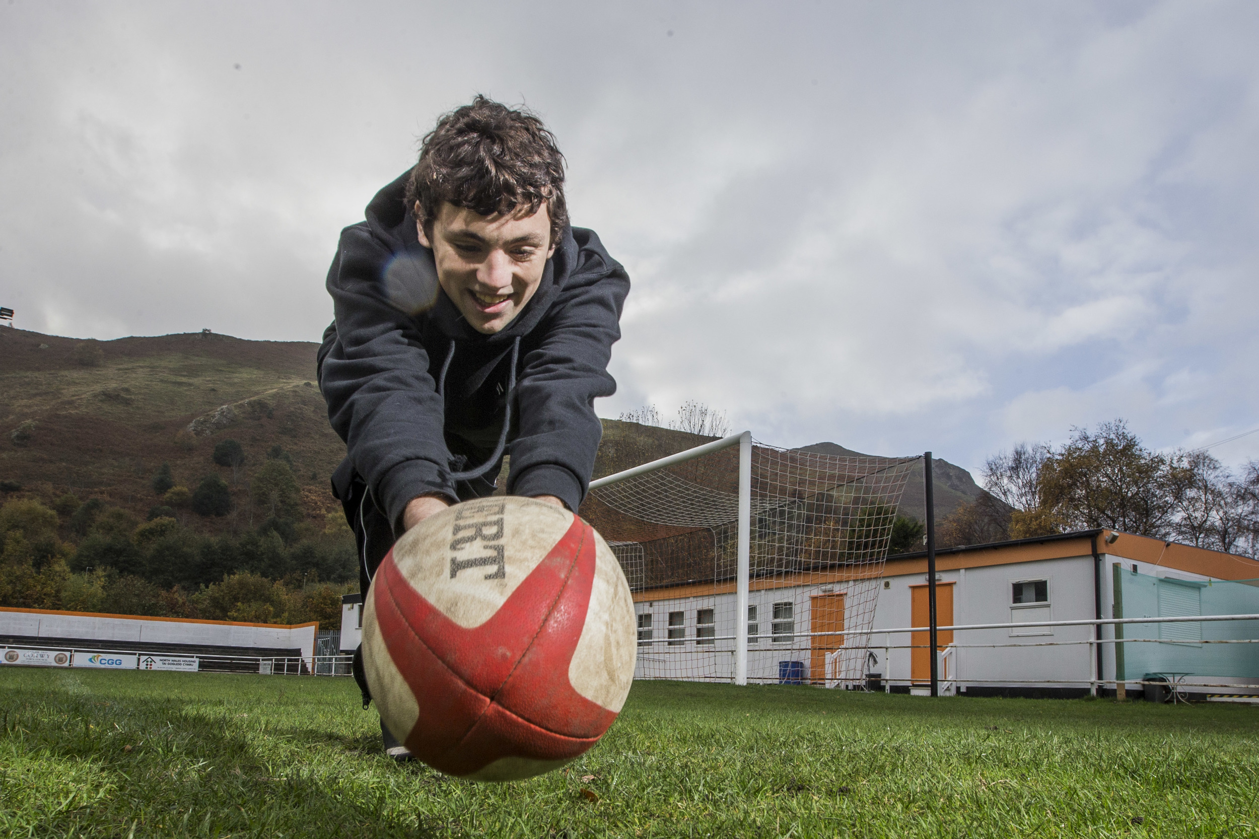 Bobi, 19 came through a Vi-Ability programme. He now works for Vi-Ability and has now achieved his Level 2 Rugby refereeing qualification.