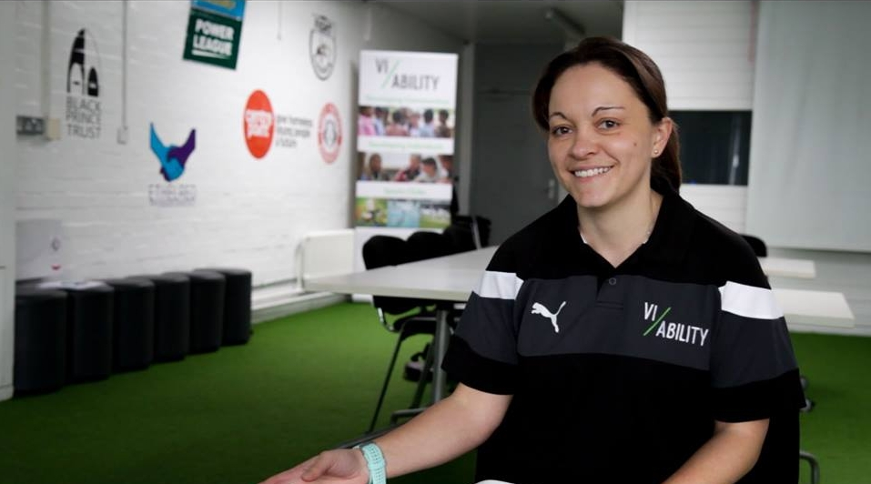 Chief Operating Officer, Shelley at 'Run the Club' programme hosted at the Black Prince Hub, Lambeth.