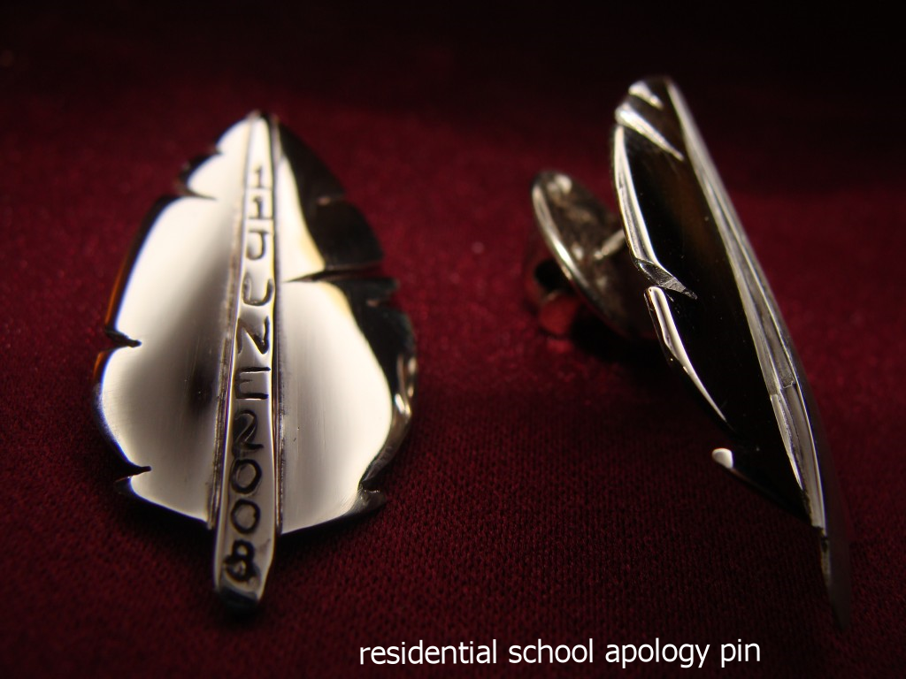 residential school apology pin