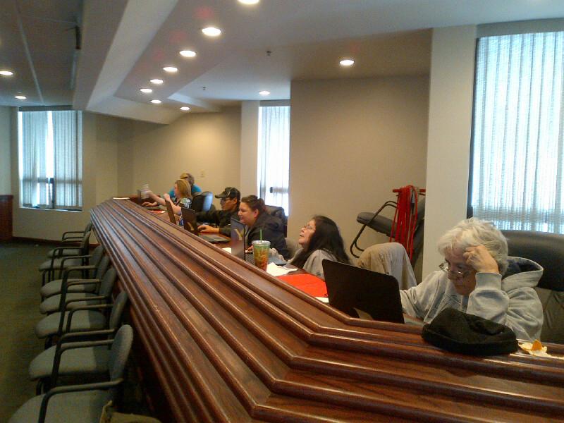 Metepenagiag Digital Literacy class