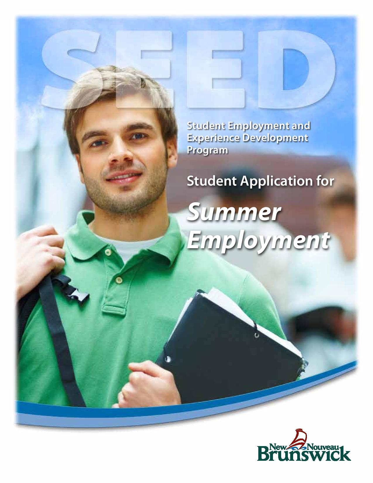 Student Employment & Experience Development Program