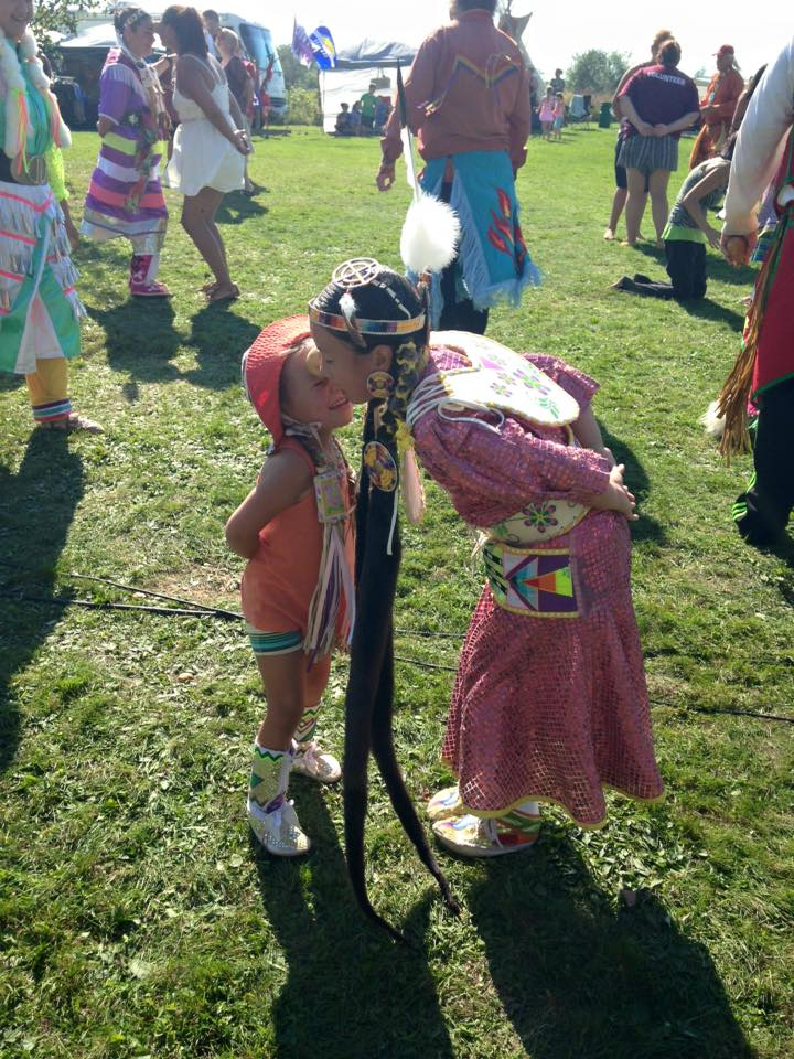 Kingsclear Pow Wow Photo submitted by Sonia Milliea