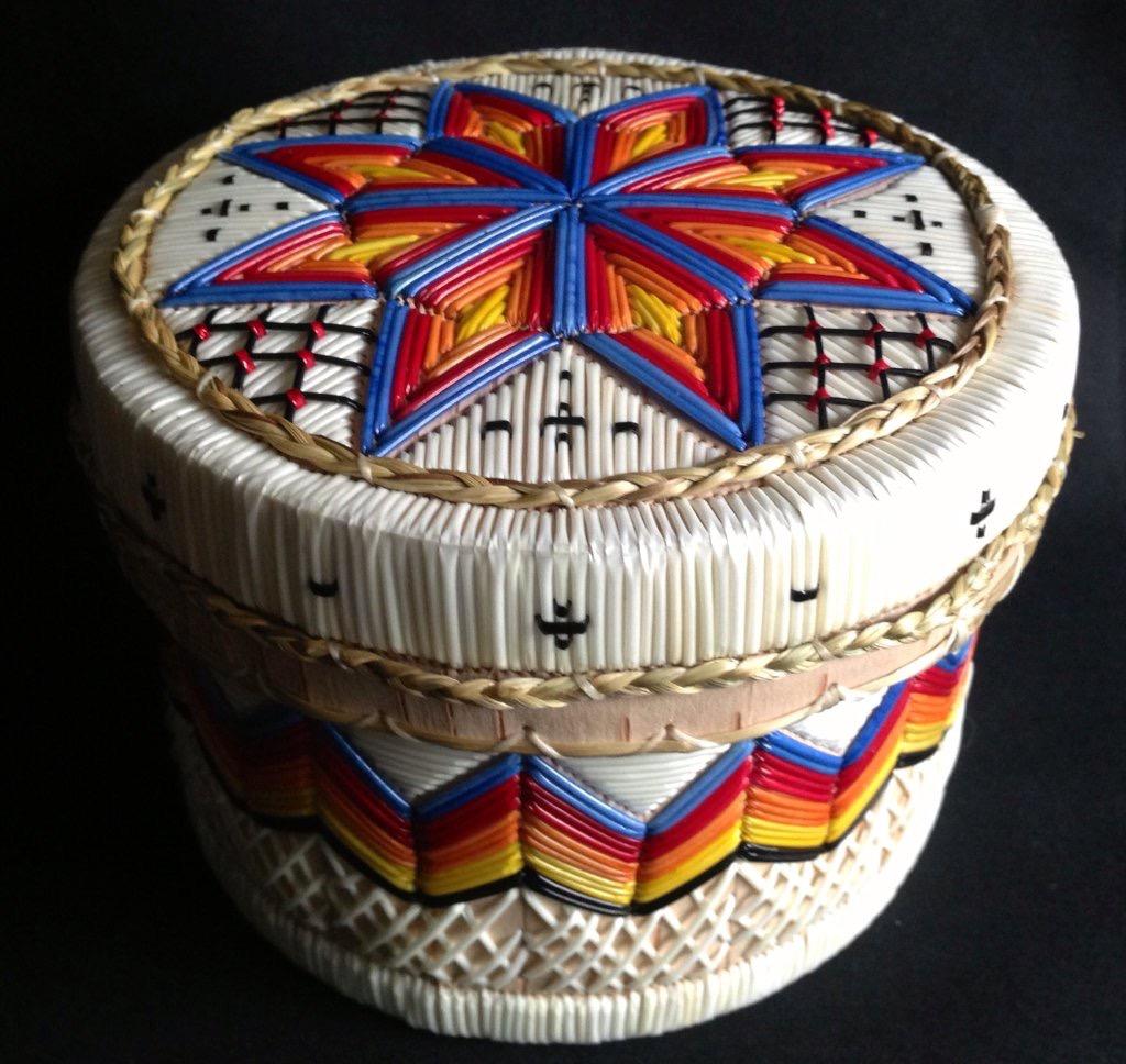 Quilled Basket by Ingrid Brooks