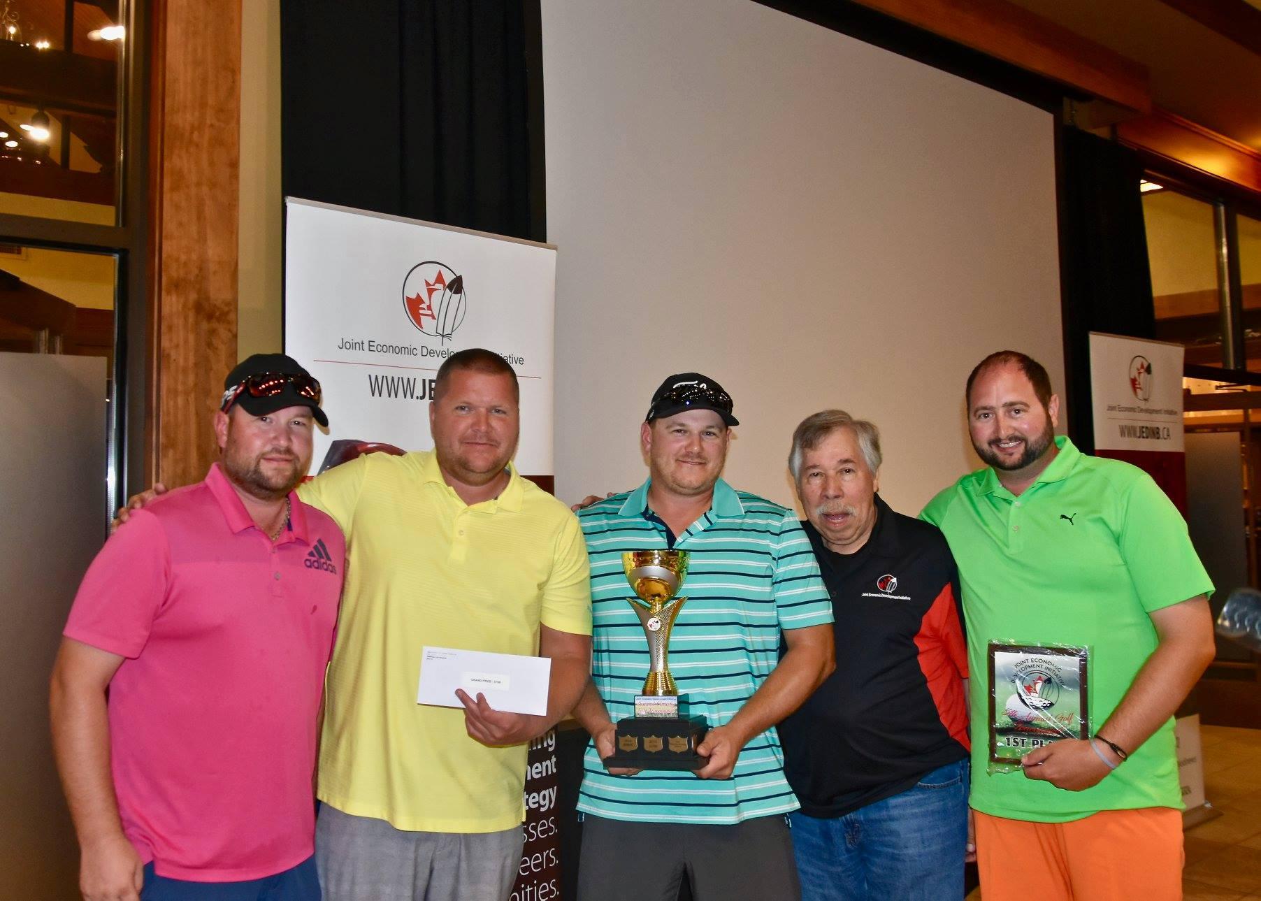 JEDI golf tournament winners