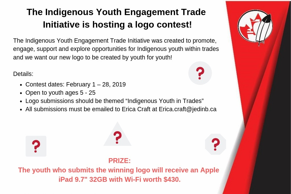 Logo Contest - The Indigenous Youth Engagement Trade Initiative project was created to promote, engage, support and explore opportunities for Indigenous youth within trades.