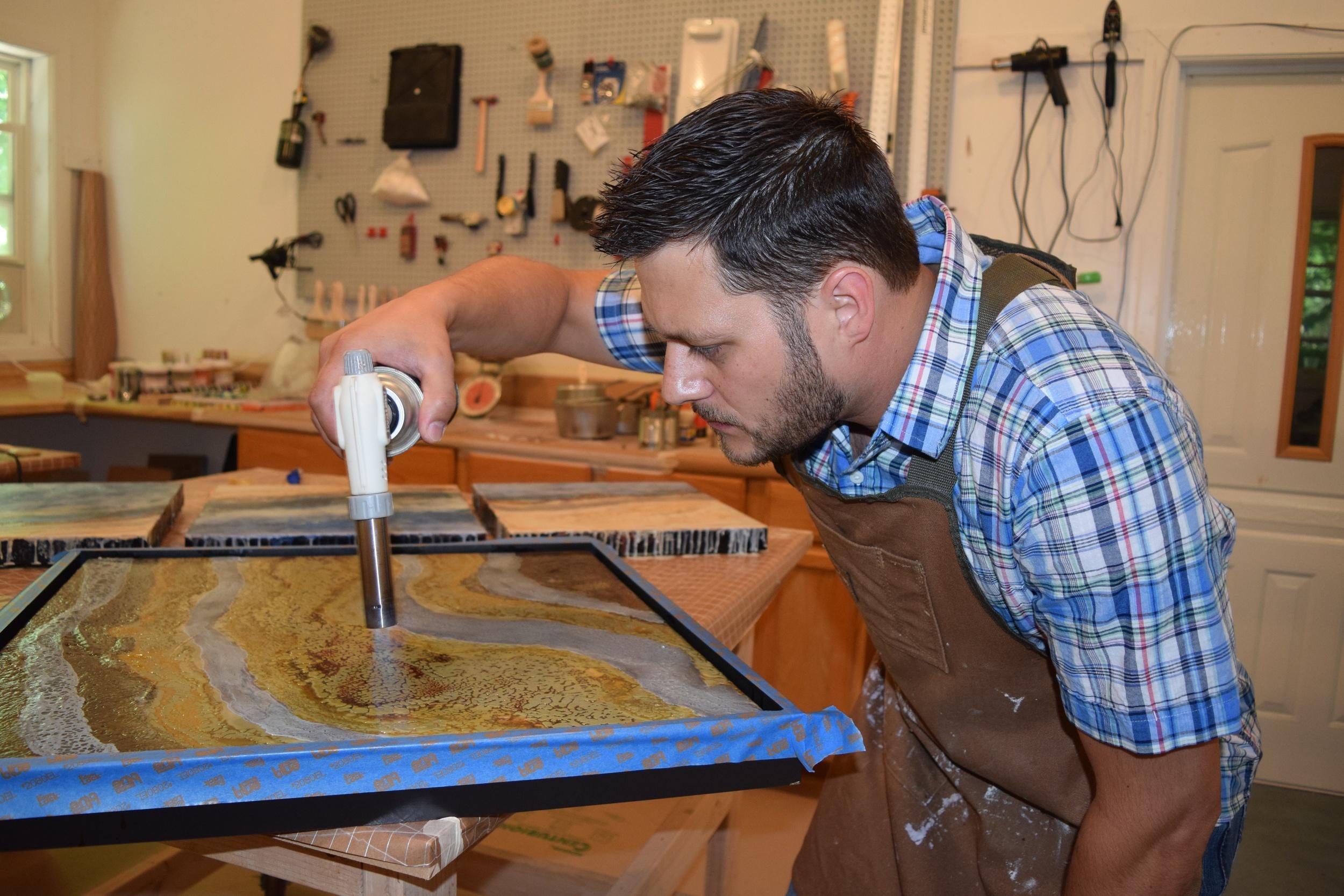 MacDougall Artist At Work 3 of 4.JPG