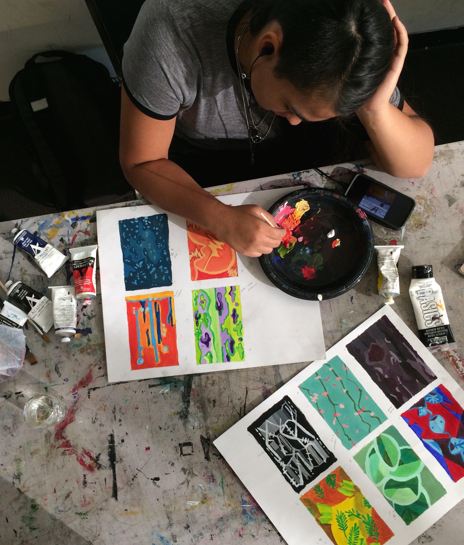Student, 2-D Design