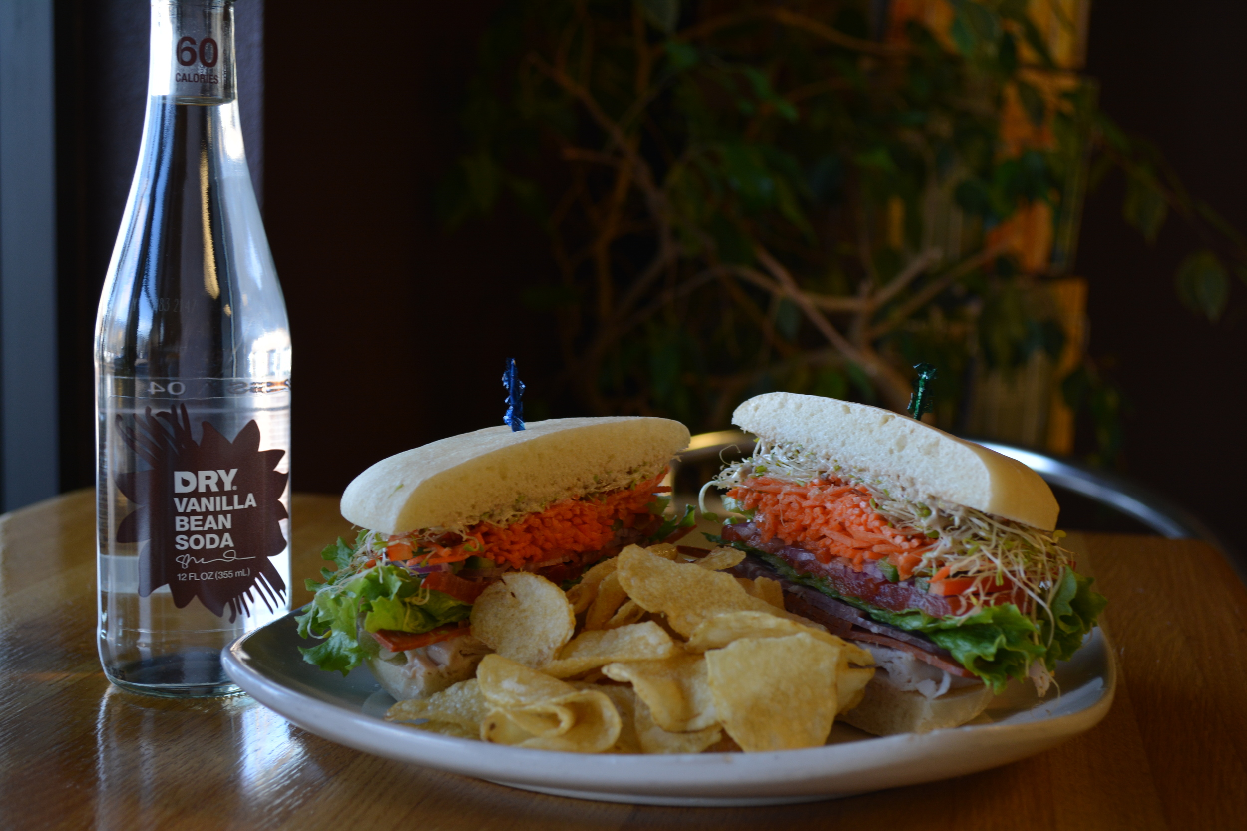 Our wraps & sandwiches are stacked high with natural meats & organic vegetables.