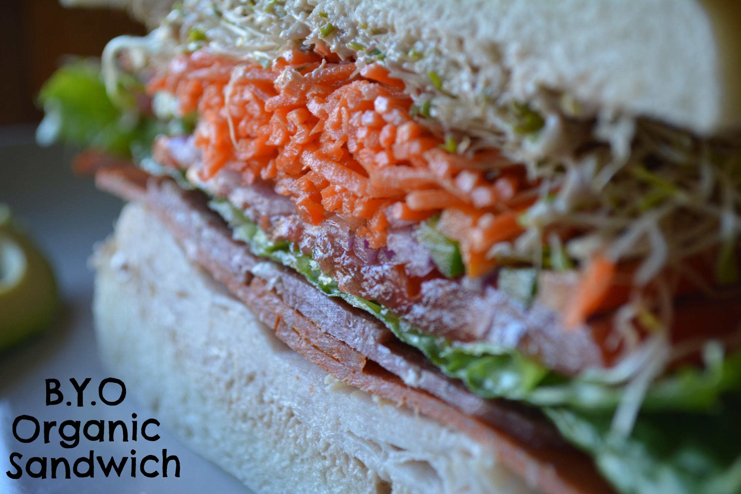 Build Your Own Organic Sandwich