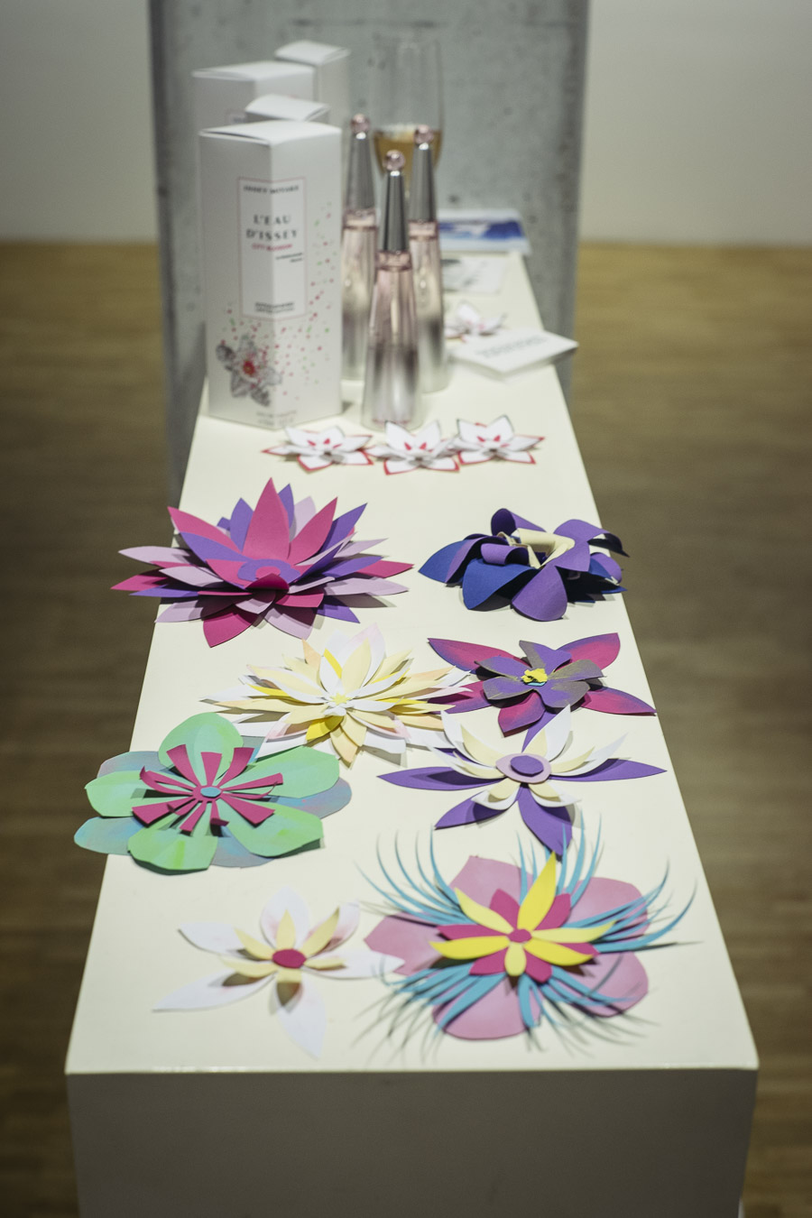 """Issey Miyake """"L'Eau d'Issey"""" Paper Art"""
