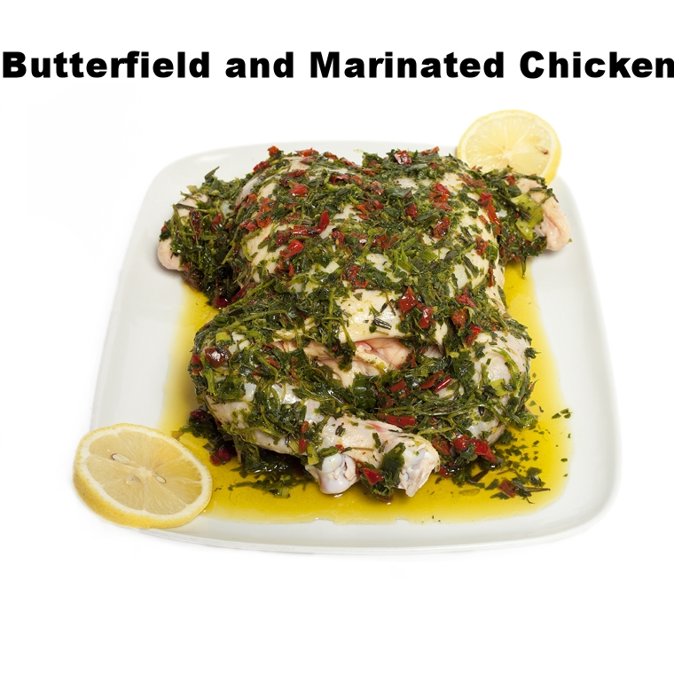 Butterfield and Marinated Chicken