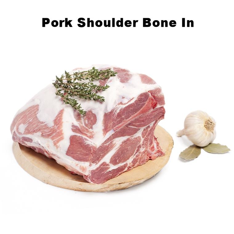 Pork Shoulder Bone In