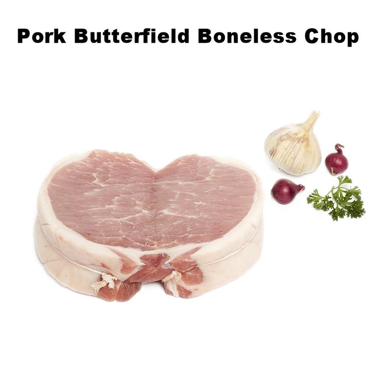 Pork Butterfield Boneless Chop