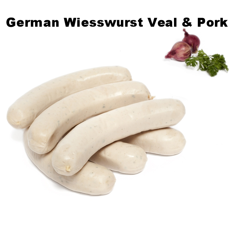 German Wiesswurst Veal & Pork