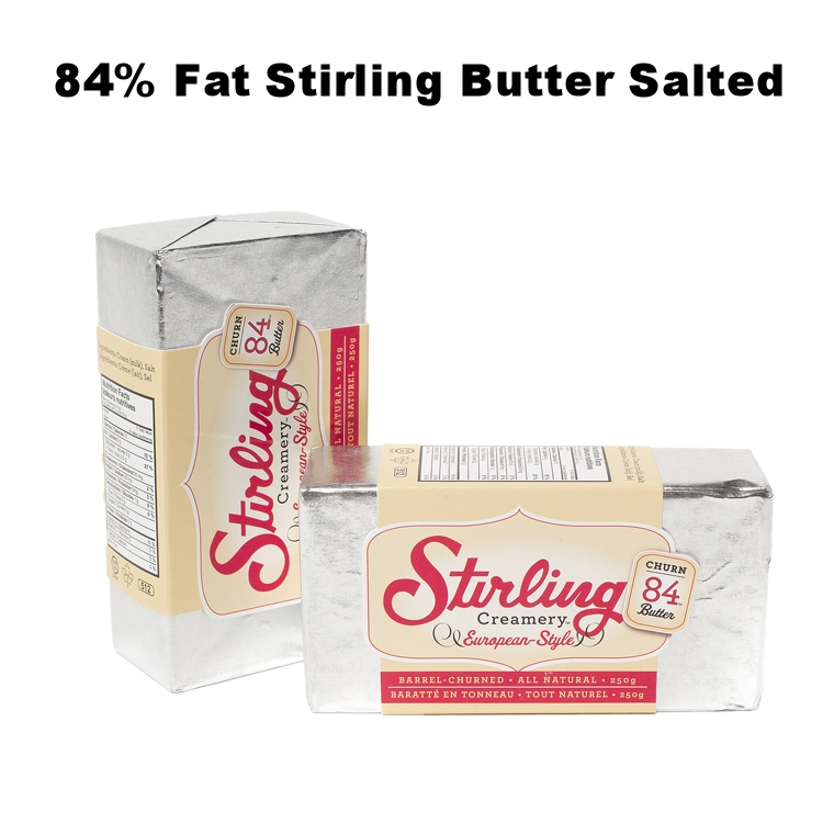 84% Fat Stirling Butter Salted