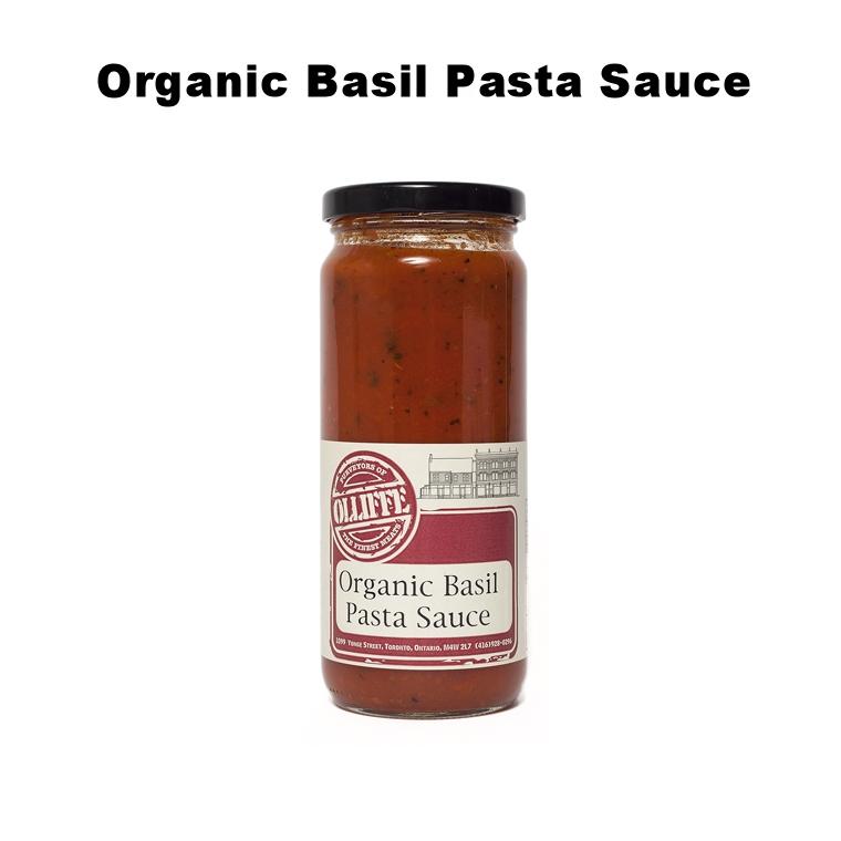 Organic Basil Pasta Sauce