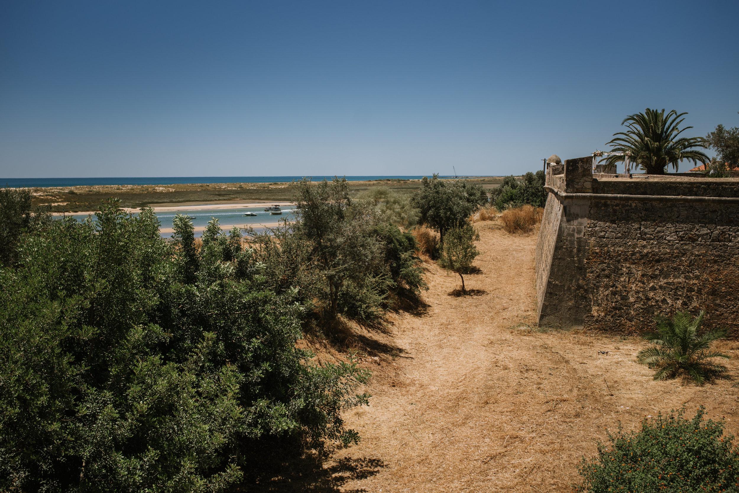 Forte São João da Barra in Cabanas de Tavira, Algarve, Portugal