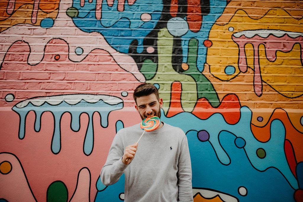 grafitti Camden
