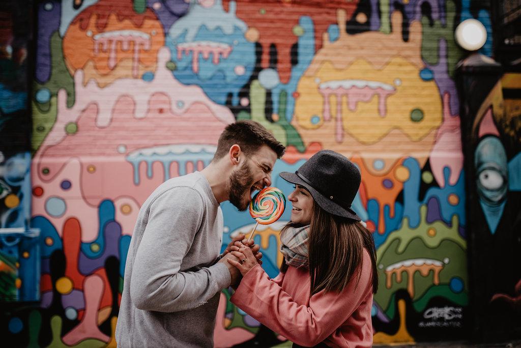 grafitti lollipop camden london