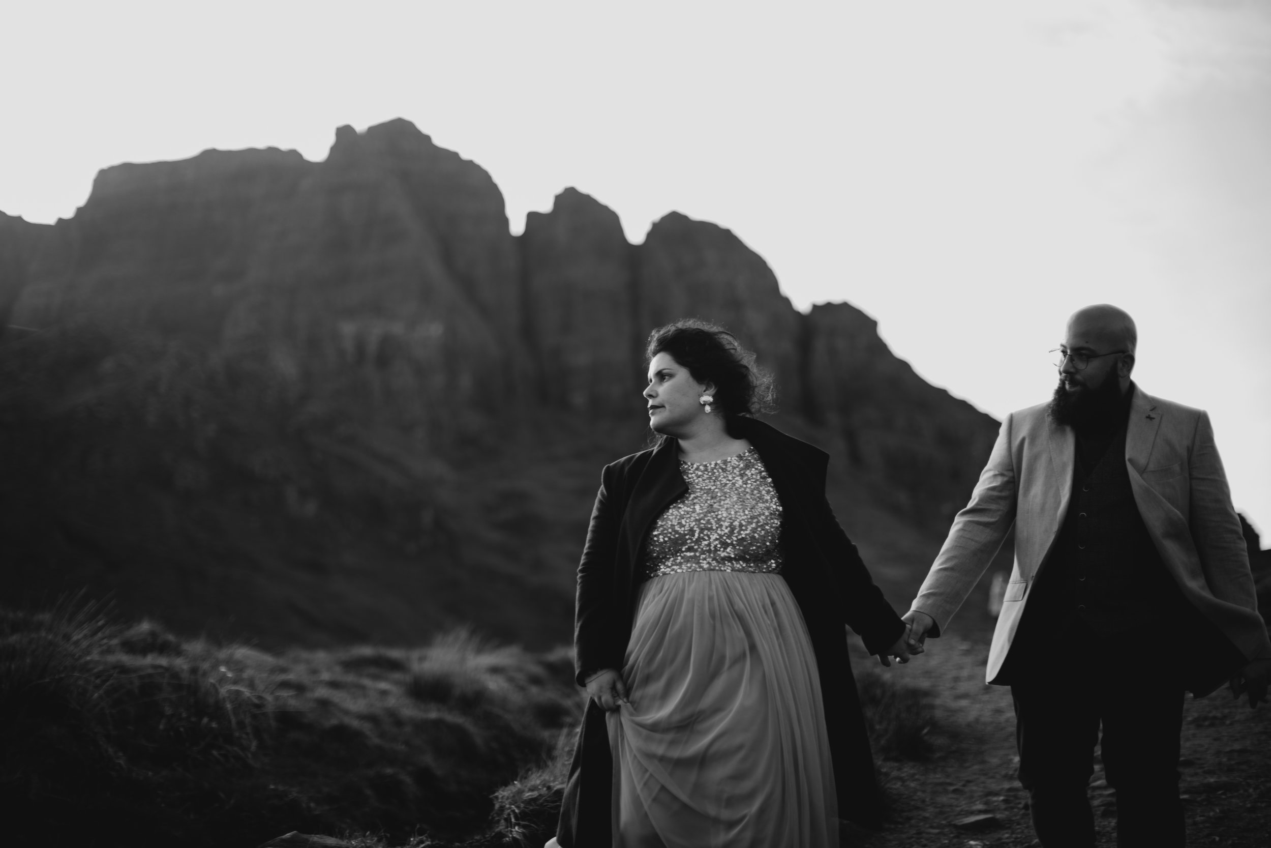 Lapela Photography Isle of Skye Elopement at Old Man of Storr