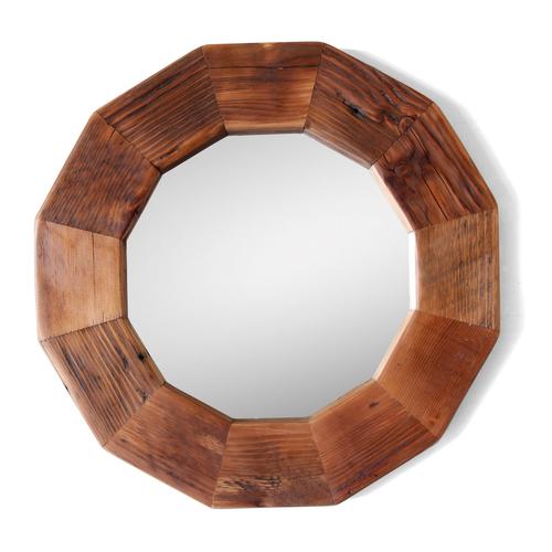 The Larson Round Mirror Reclaimed