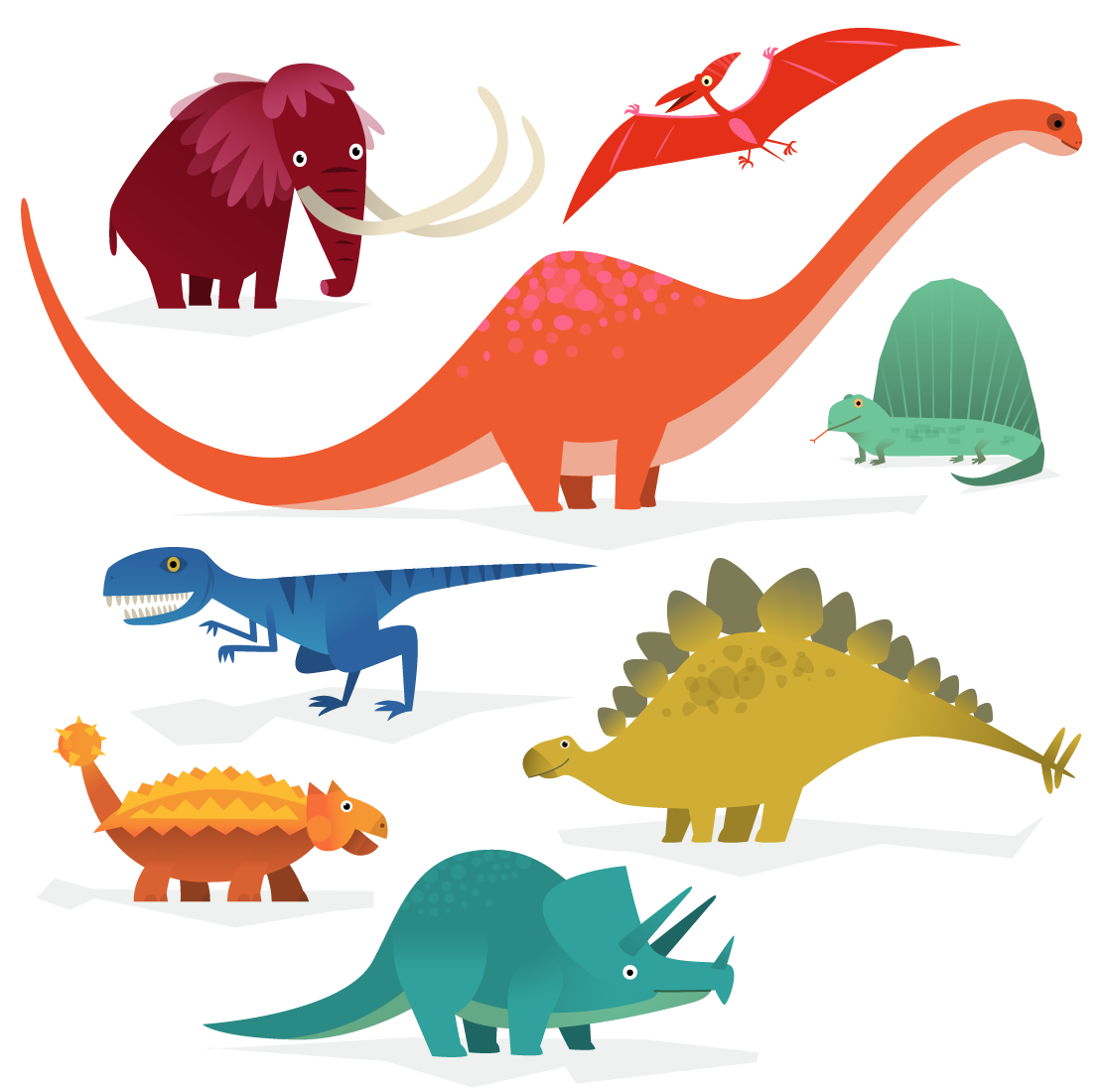 I have to spend next week drawing dinosaurs. I love my job.