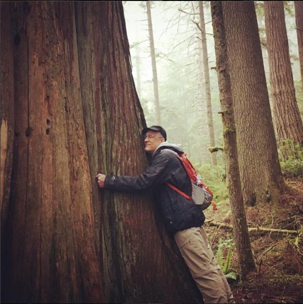 ...I'm a tree hugger