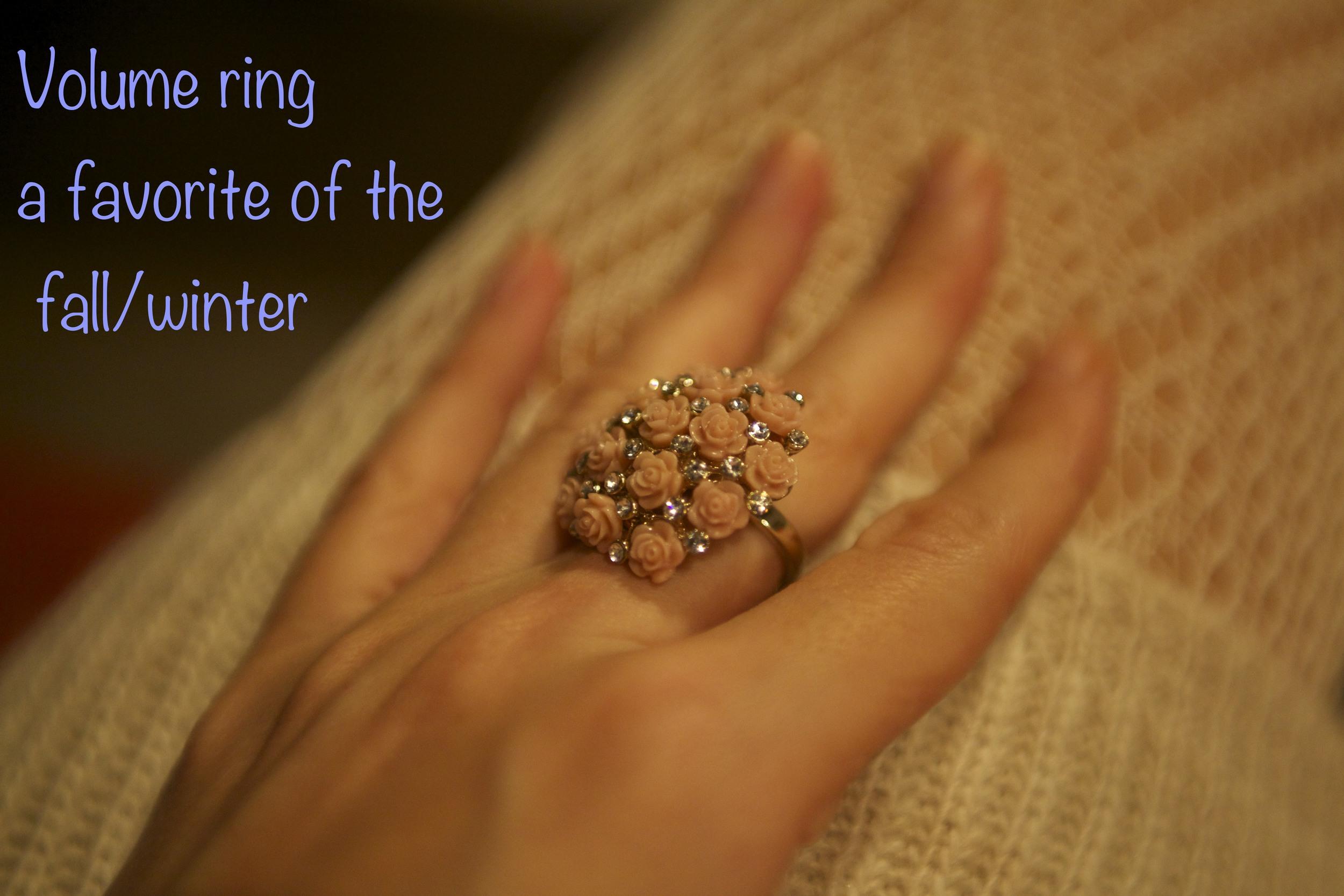 Мое любимое кольцо в память о нежных летних деньках ;)