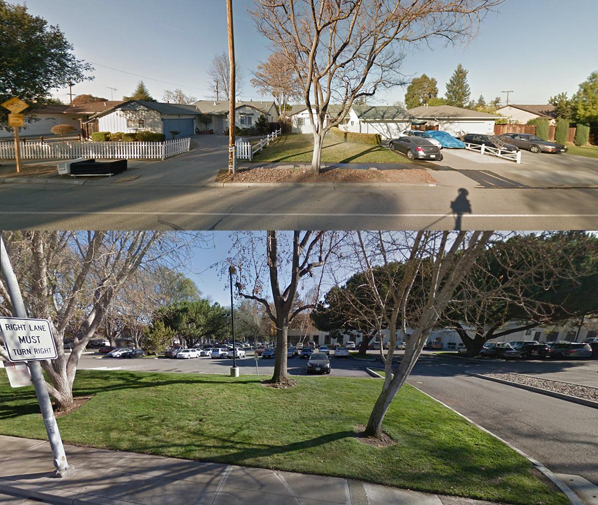 Apple's future neighbors. (Credit: Google Maps)