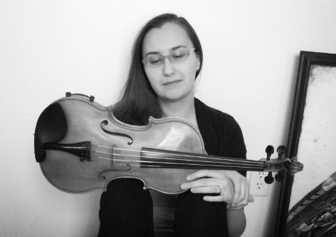 Amanda Mais - teacher and owner - Arco Violin Studio in South Bend, IN