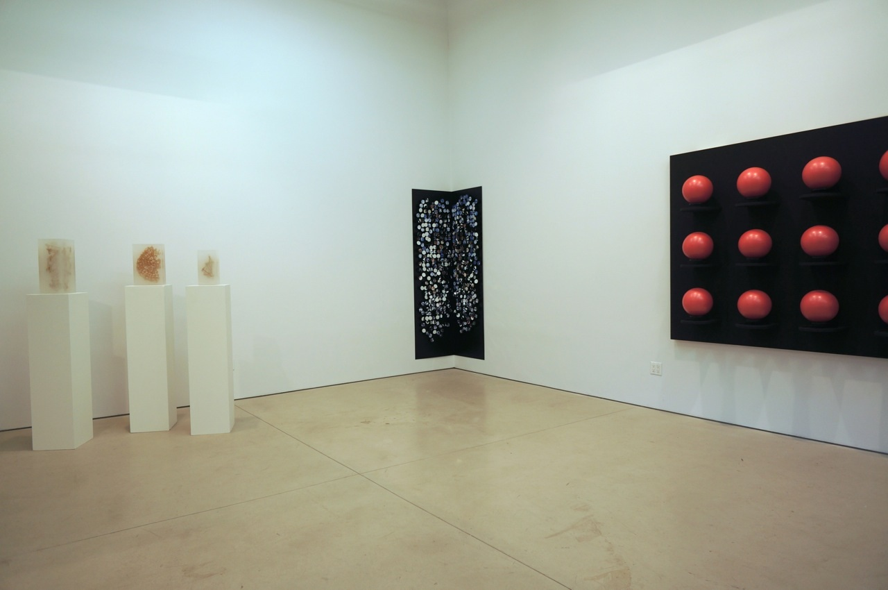 Installation view: Talasnik, Weinthaler, Philbrick