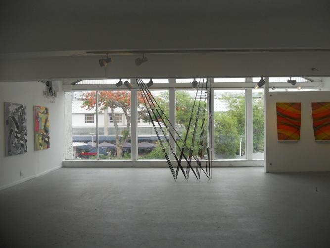 Installation view. Sheridan, Roa, Okpaku
