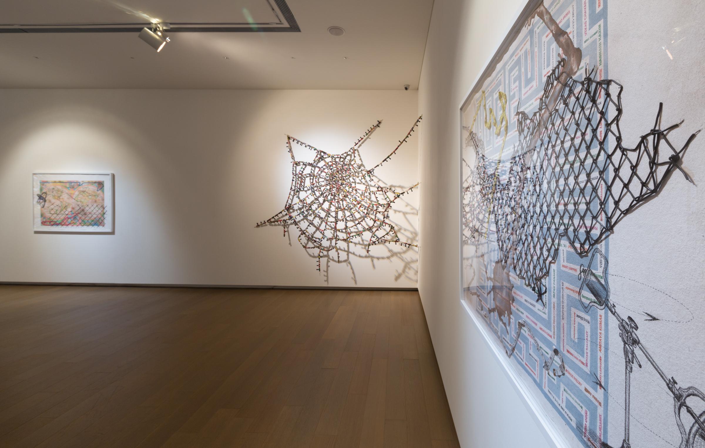 Installation view: Reena Saini Kallat