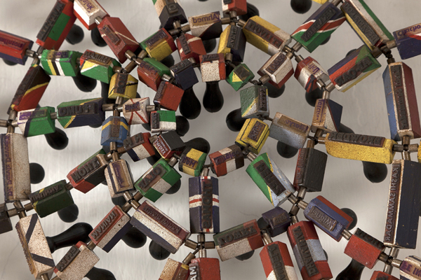 Detail of Untitled (Cobweb)