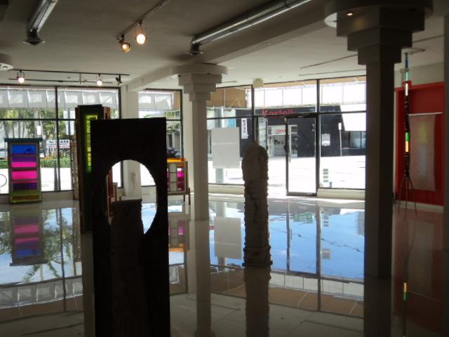 Installation view: Beltran, Trimino, Nozick