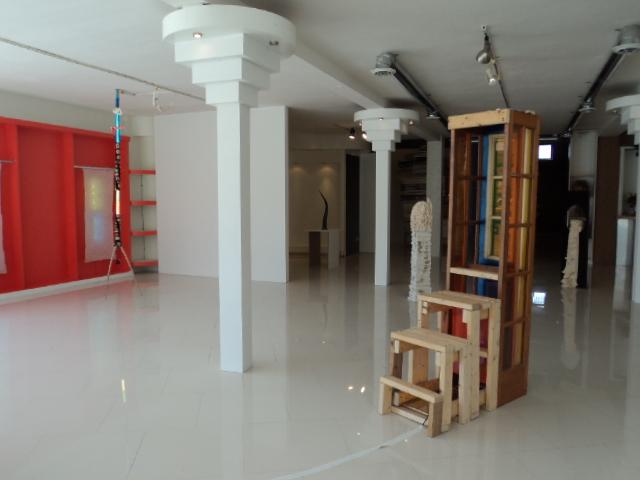 Installation view: Trimino, Nozick