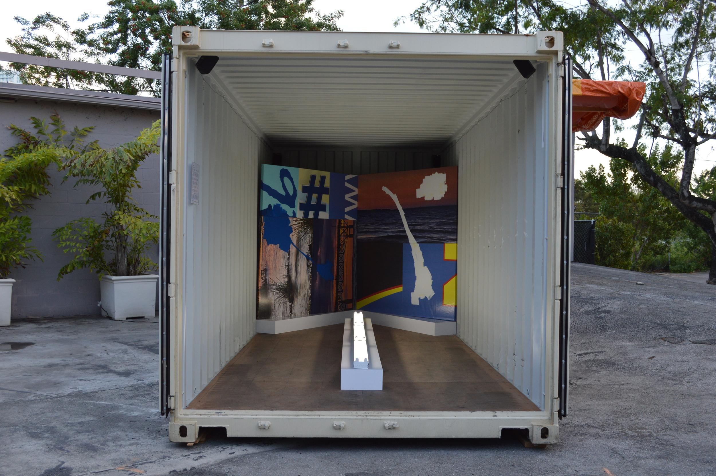 Michael Loveland's installation