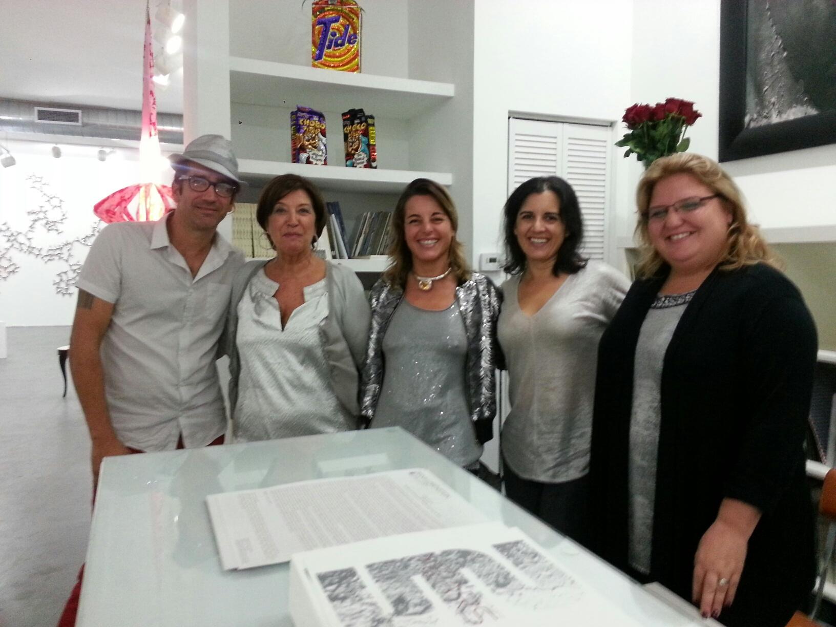Michael, Diana, Ombretta, Laurie, Juliana