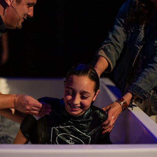 """I want to be baptized because I want to take the next step in my faith and live for Him and Him alone. Now, I stand in front of all of you and declare that JESUS IS LORD and I want to live my life for Him only!"" ~ Kealyn Mebert"