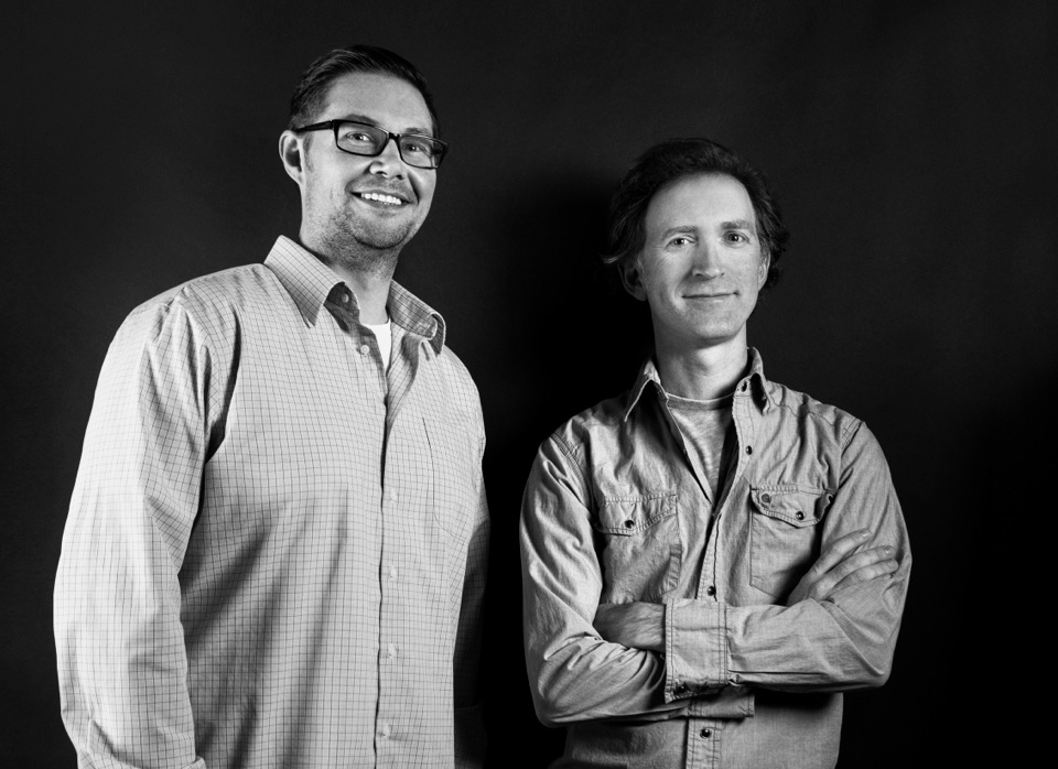 CO-FOUNDERS MICHAEL FRANZ AND GAVIN FARRELL