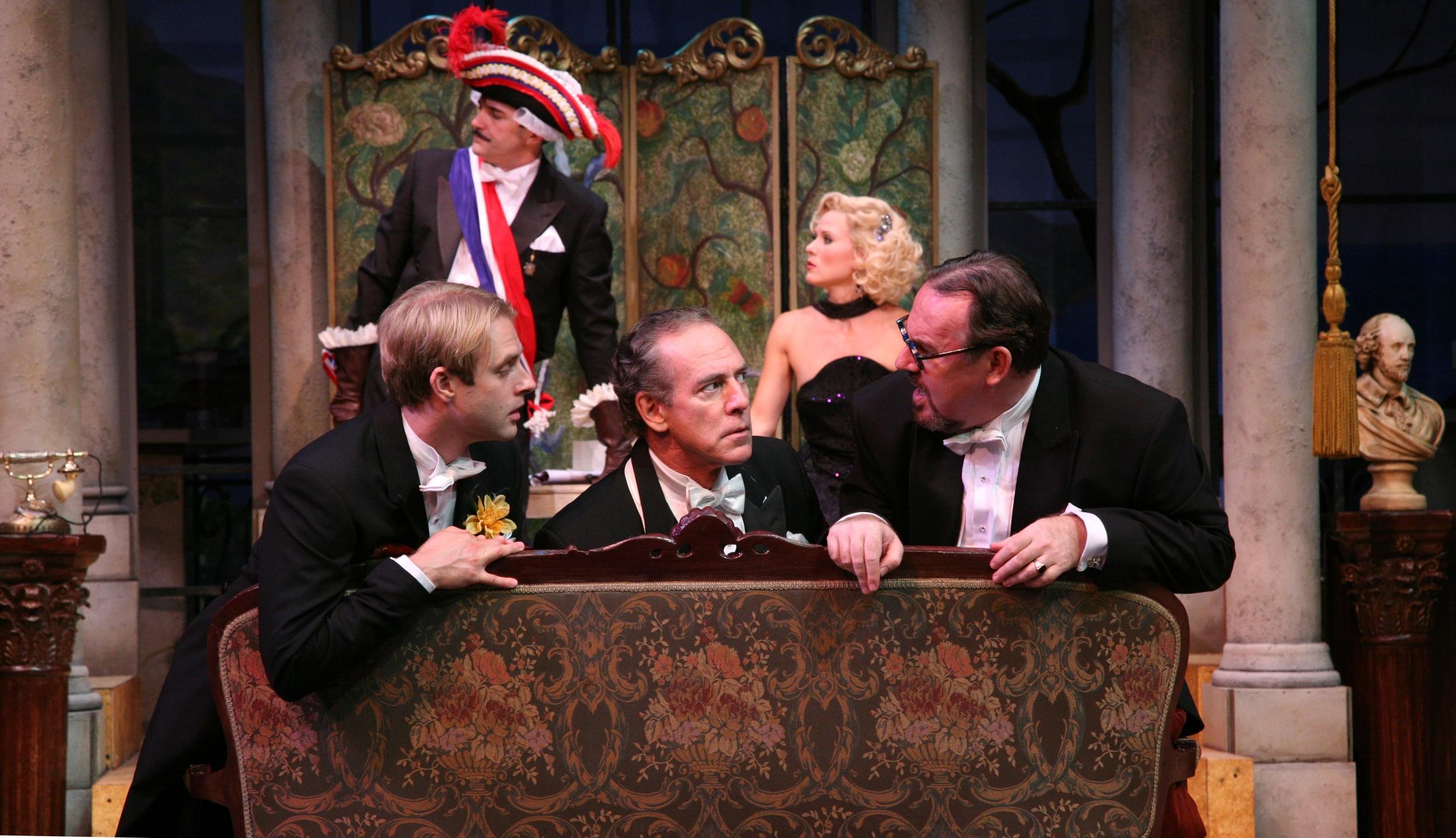 The Play's The Thing - Albert (Jared Zeus), Sandor (Mark Jacoby), Mansky (Colin McPhillamy).jpg