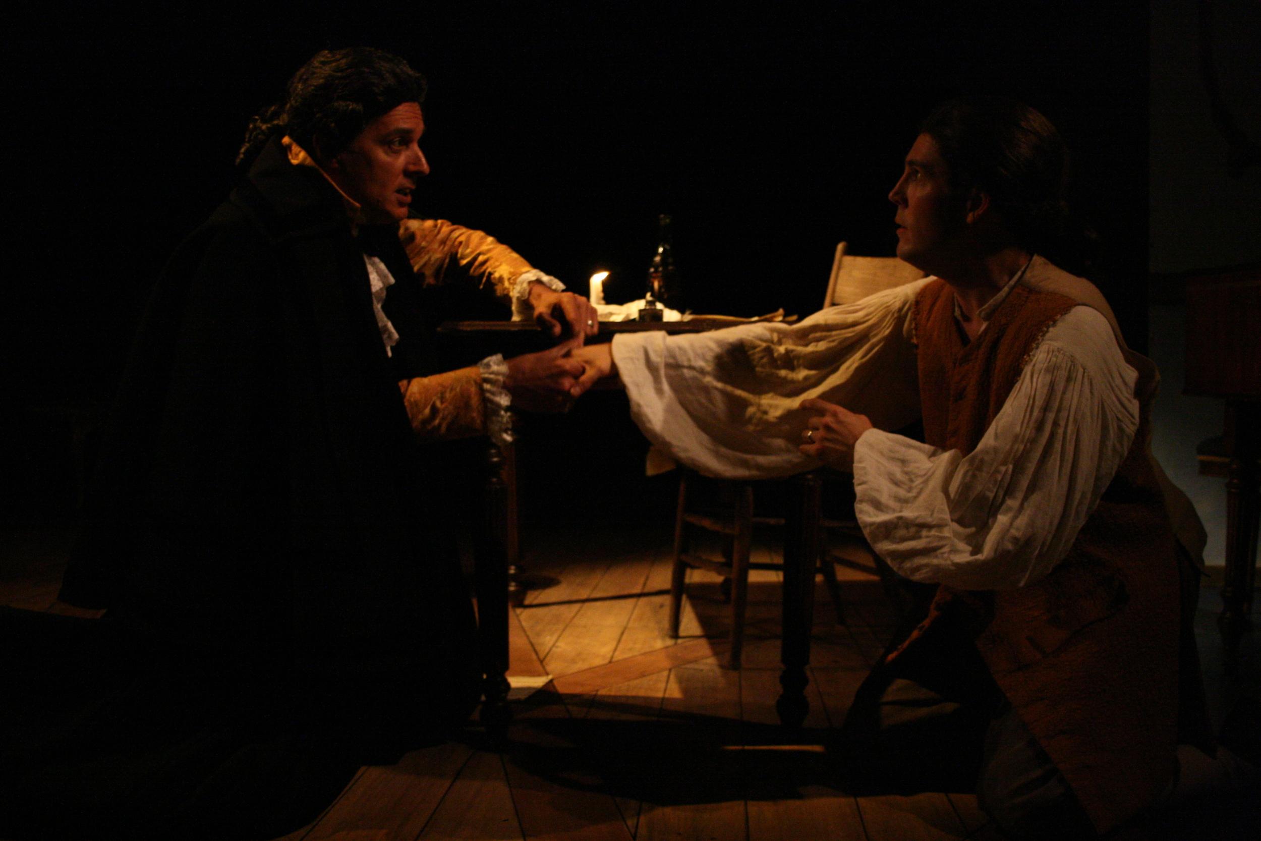 Amadeus - Salieri (Robert Cuccioli),  Mozart (Jordan Coughtry).jpg