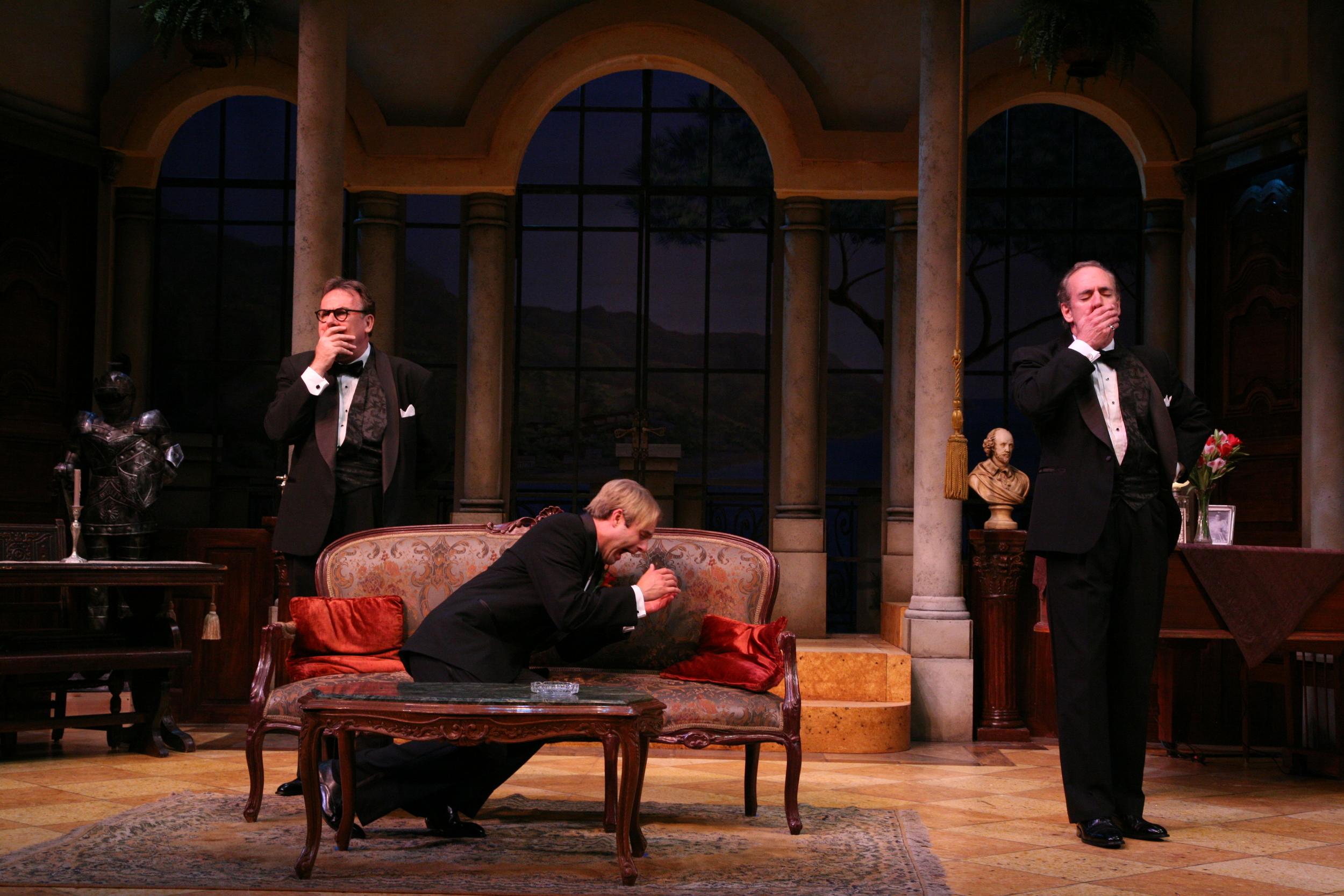 The Play's The Thing - Mansky (Colin McPhillamy), Albert (Jared Zeus), Sandor (Mark Jacoby).jpg
