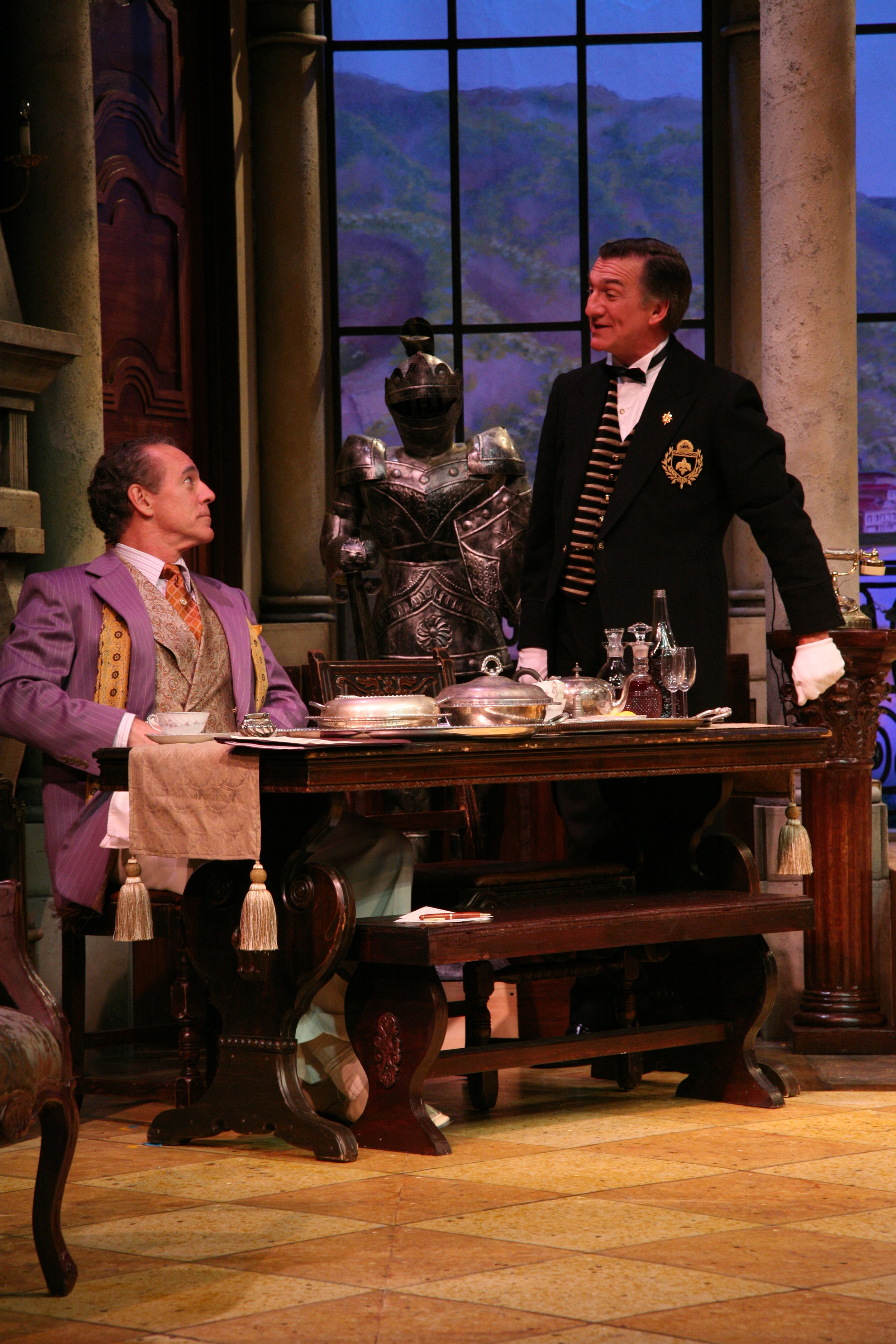 The Play's The Thing - Sandor (Mark Jacoby), Dwornitschek (John Little).JPG