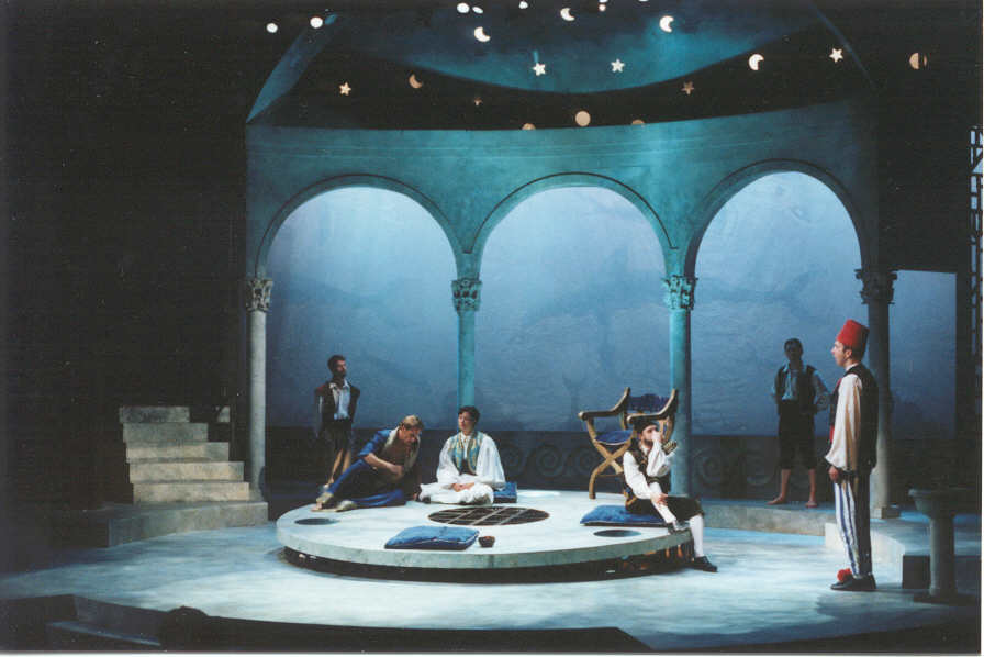 Twelfth Night - Feste Sings at Orsino's palace.jpg
