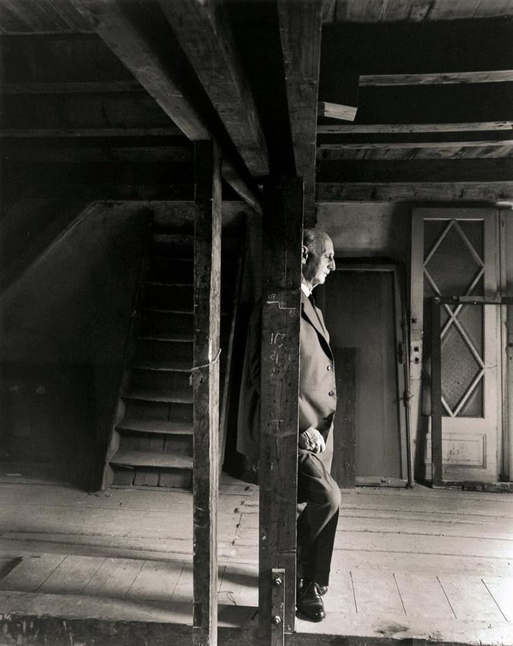 Otto returns to the attic.