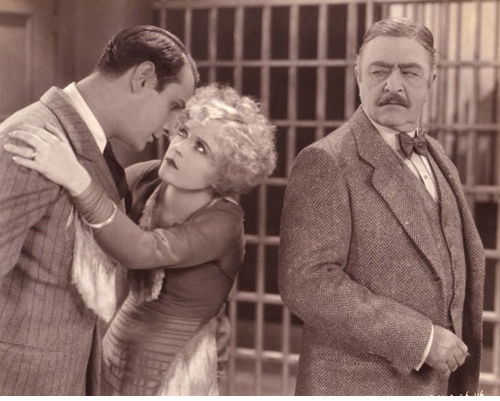 Victor Varconi, Phyllis Haver and Robert Edeson in  CHICAGO