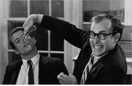 Peter H. Beard and Marty Greenbaum in  HALLELUJAH THE HILLS  (1963)