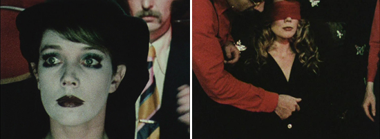 Two views of Linda Marlowe in  DYN AMO  (1972)