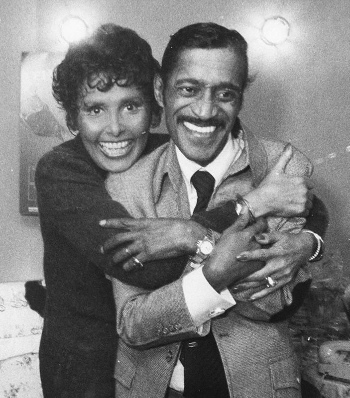 Lena Horne and Sammy Davis, Jr.